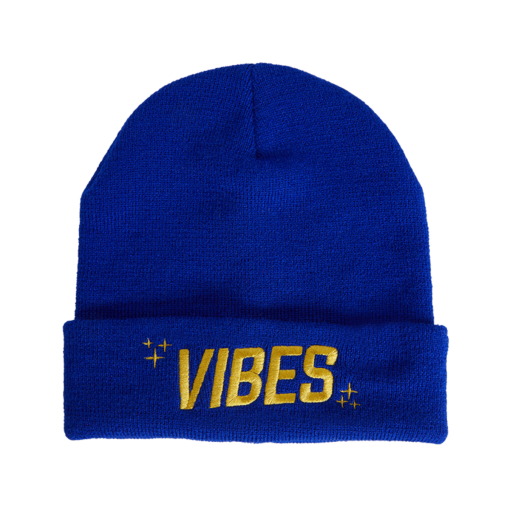 VBS BEANIE Blue The Weed Blog - Cannabis News, Culture, Reviews & More