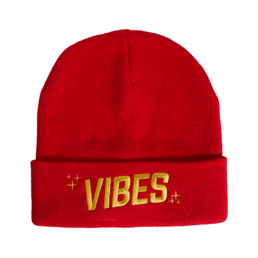 VBS BEANIE Red The Weed Blog - Cannabis News, Culture, Reviews & More